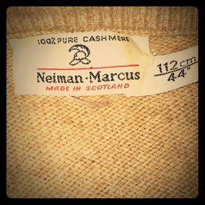 Classic tan cashmere
